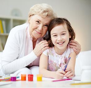 Grandmother and Grandchild