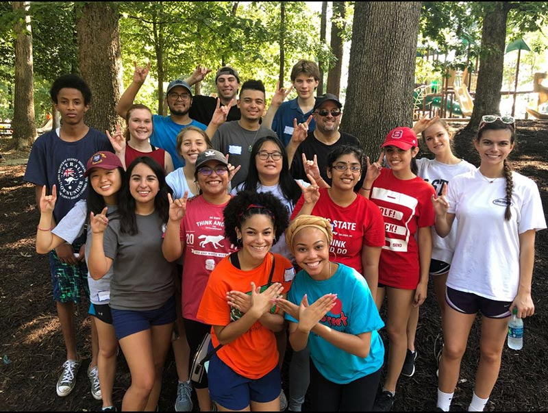 Marsocci-Circle-K-Volunteer-Raleigh-park cleanup