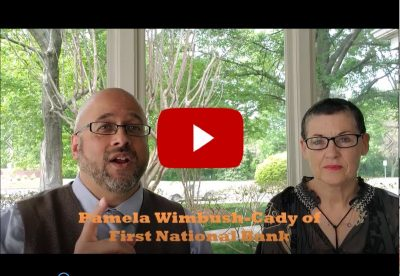 Raleigh Estate Planning Attorney Jeffrey G. Marsocci interviews banker Pamela Wimbush-Cady