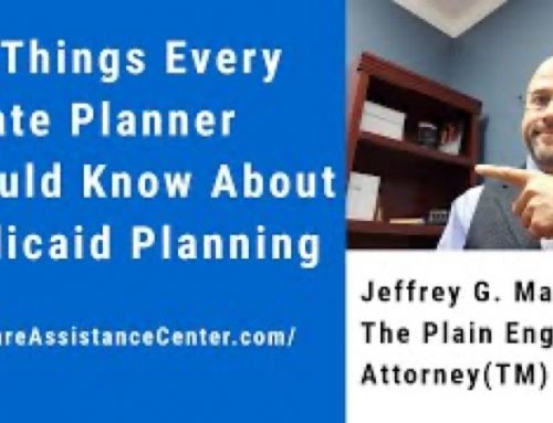 Six Things Every Estate Planner Should Know About Medicaid Planning