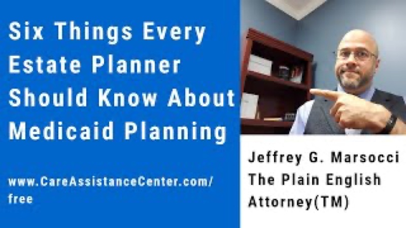 Six Things to Know About Medicaid Planning