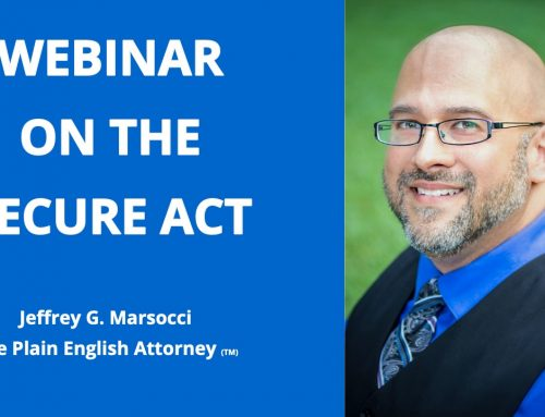 Security Against the SECURE Act; Webinar Invitation