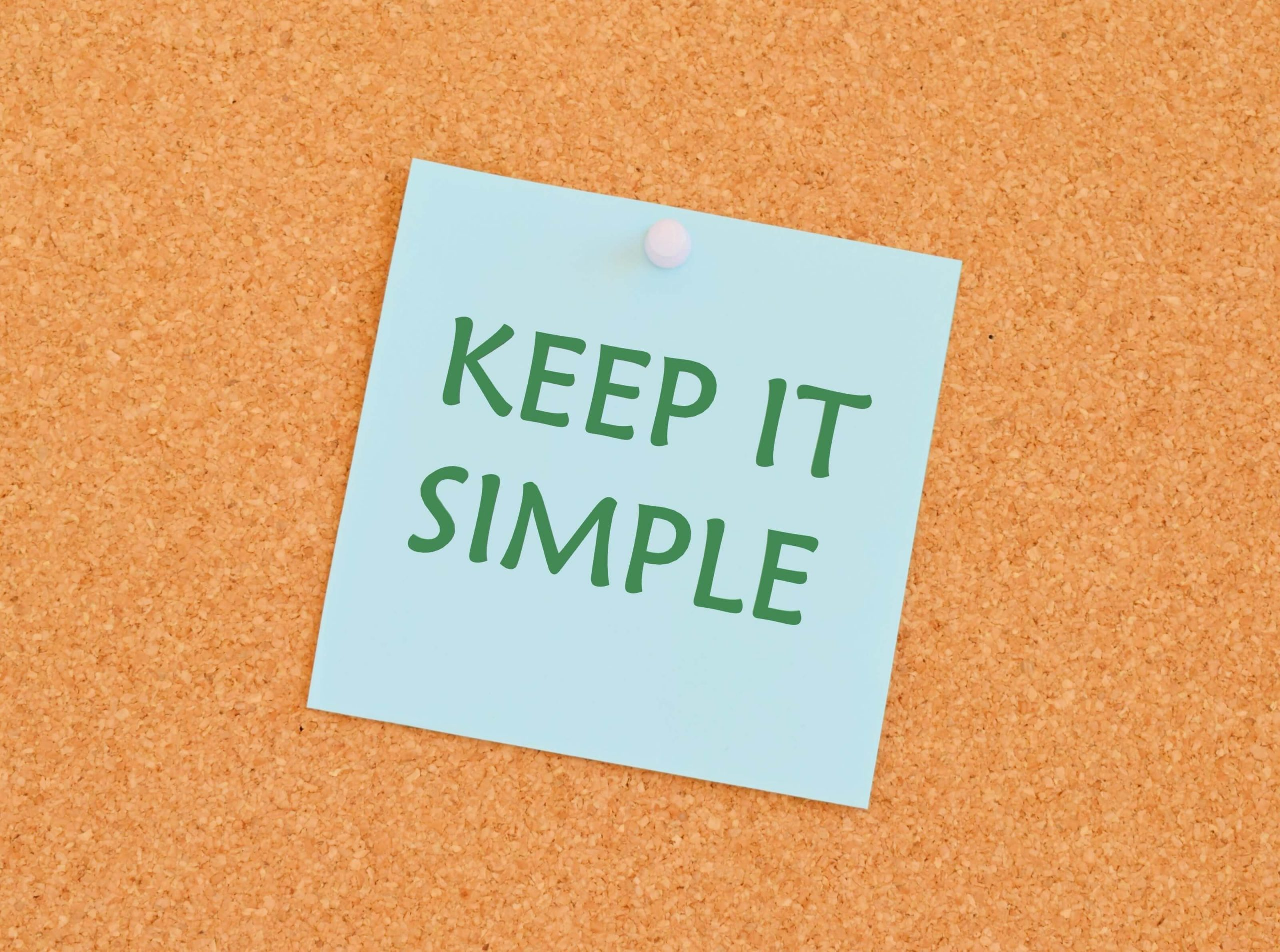 Keep It Super Simple Posit