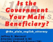 Is the Government Your Main Beneficiary
